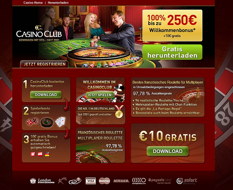 casinoclub roulette