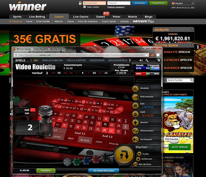 online roulette system spielen