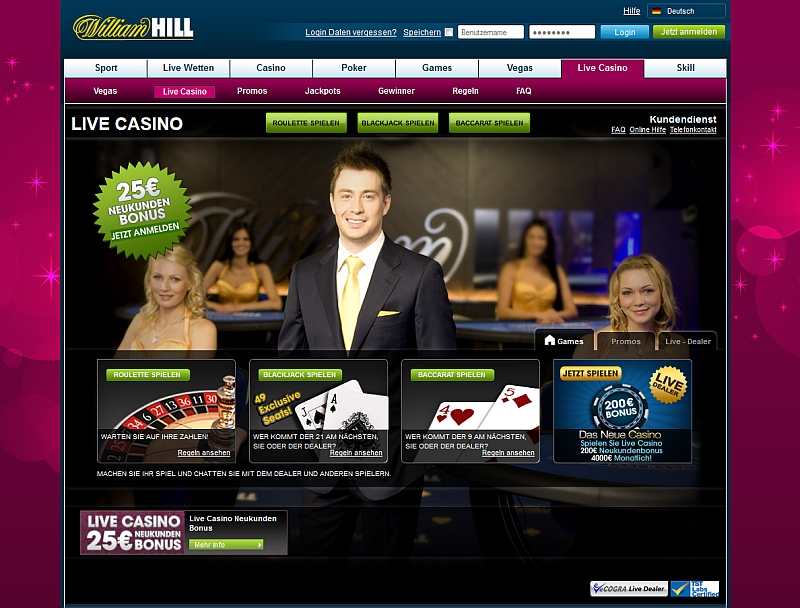 live roulette bei williamhill