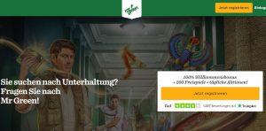 Mr Green Casino Vorschau