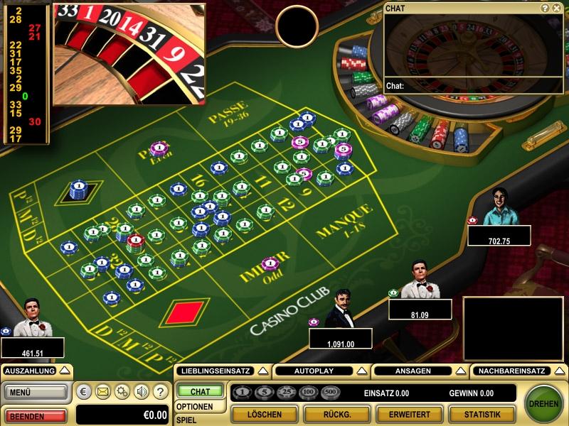 europaisches roulette spielen